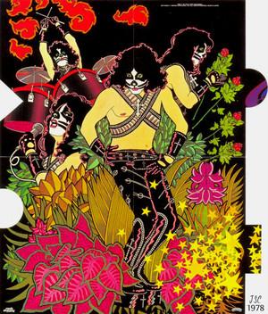 키스 ~solo album poster 1978