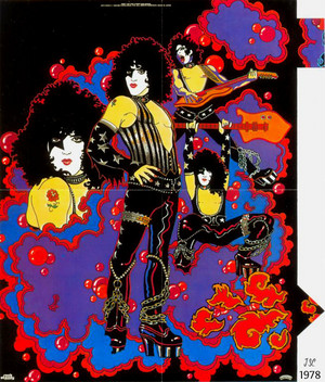 KISS ~solo album poster 1978