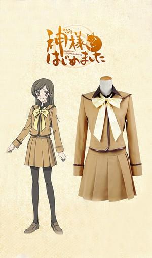 Kamisama Hajimemashita Nanami Momozono Cosplay Costume