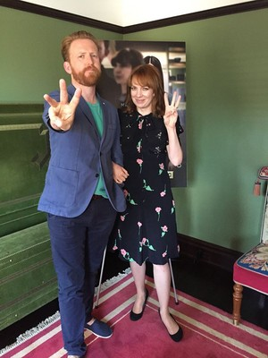 Katherine Parkinson and Tom Goodman-Hill
