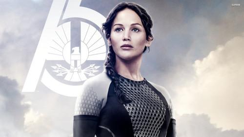 Die Tribute von Panem Hintergrund called Katniss Everdeen