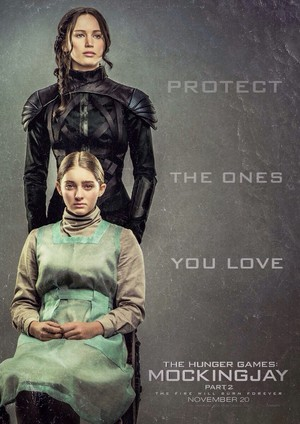 Katniss and Prim | Mockingjay - Part 2