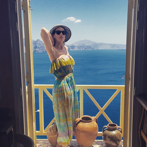 Katy Perry at Mykonos Island