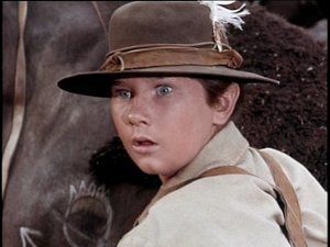 Kevin Corcoran as Arliss Coates in Savage Sam