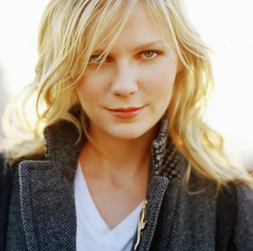 Pelakon wanita kertas dinding probably with a portrait called Kirsten Dunst