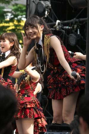 Kizaki Yuria AKB48 Campaign Free Live in Osaka 2015