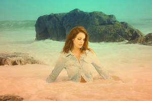Lana Del Rey photoshoot oleh Neil Krug