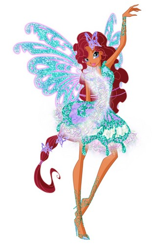 the winx club wallpaper entitled Layla Butterflix