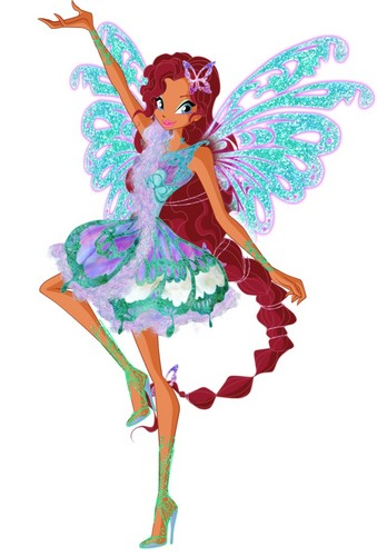 The Winx Club wallpaper titled Layla Butterflix