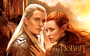 Legolas and Tauriel are so cool