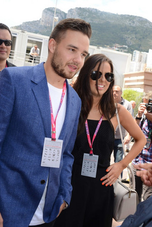 Liam at the F1 Grand Prix in Monaco