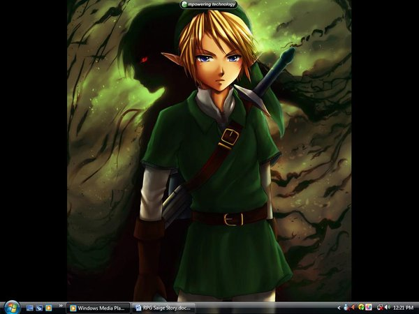 Dark Link Images Link And Dark Link Wallpaper And Background Photos