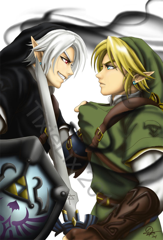 Ciel_and_payten Images Link Vs Dark Link Hd Wallpaper And Background Photos