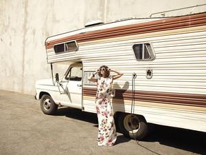 Lizzy Caplan in Flare Magazine - December 2013