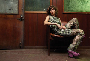 Lizzy Caplan in Flare Magazine - December 2013