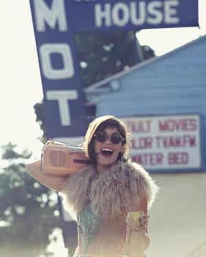Lizzy Caplan in Foam Magazine - December 2012