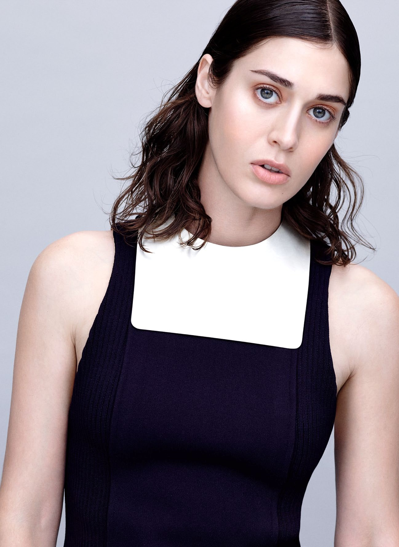 Lizzy Caplan in InStyle - January 2015