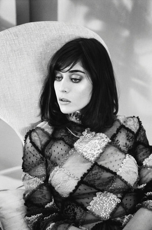 Lizzy Caplan in Marie Claire - October 2014