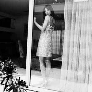 Lizzy Caplan in Marie Claire - October 2014