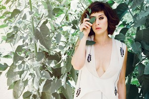 Lizzy Caplan in Nylon Magazine - September 2013