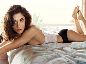 Lizzy Caplan in Rolling Stone - August 2014