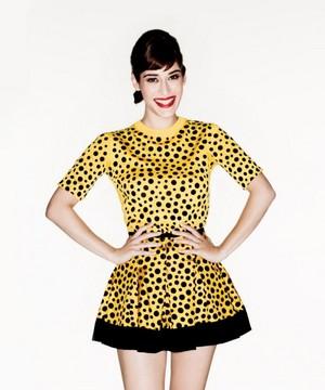 Lizzy Caplan in Vanity Fair - August 2012