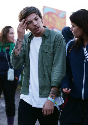 Louis at Glastonbury Festival
