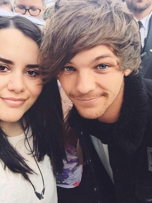 Louis with 팬 5