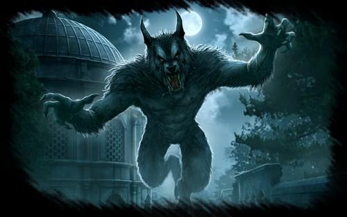 Werewolves achtergrond entitled Loups-Garous