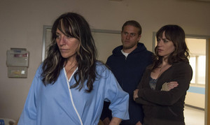 "Maggie Siff as Tara Knowles in Sons of Anarchy - ""Ablation"" (5x08)"