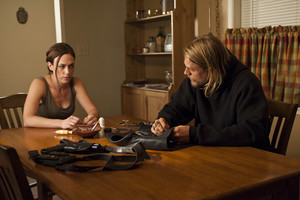 """Maggie Siff as Tara Knowles in Sons of Anarchy - """"Service"""" (2x11)"""