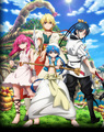 Magi the labyrinth of Magic crew