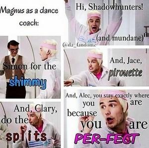 Magnus as a Dance Coach :D