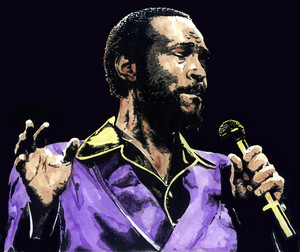 Marvin Gaye- Marvin Pentz Gay Jr.(April 2, 1939 – April 1, 1984)