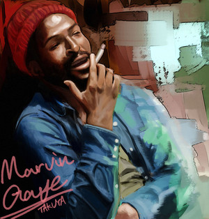 Marvin Gaye- Marvin Pentz Gay Jr.(April 2, 1939 – April 1, 1984)