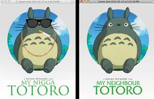 My Neighbor Totoro edit
