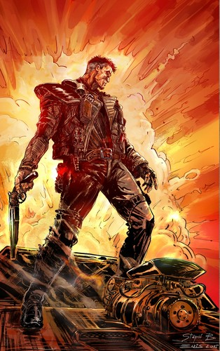 Mad Max Fury Road Wallpaper Containing Anime Called