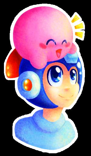 Mega Man X Kirby
