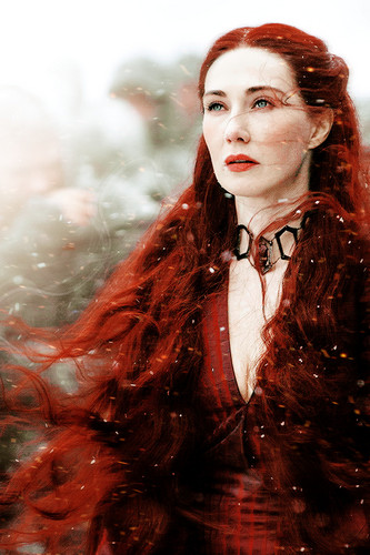Game of Thrones wallpaper possibly containing a portrait titled Melisandre