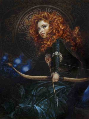 Merida Oil Painting