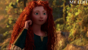 Merida with realistic proportions