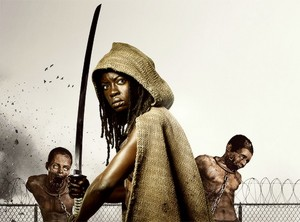 Michonne - The TV tampil