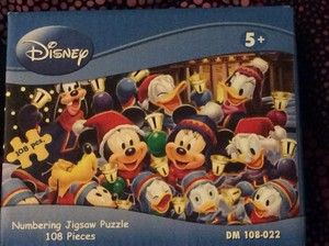 Mickey and Friends Weihnachten Puzzle