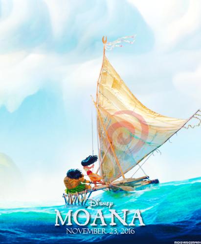 Moana wallpaper called Moana Poster