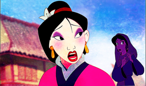 Mulan and Jasmine