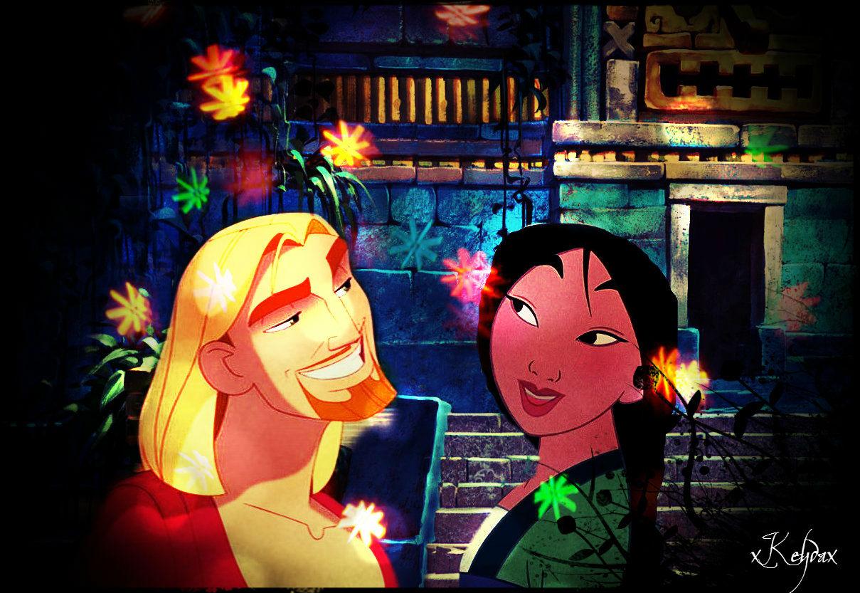 Mulan and Miguel.