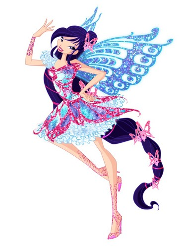 Winx Club fond d'écran entitled Musa Butterflix