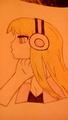 Music - anime-drawing photo