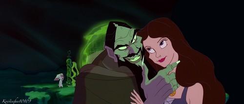 Disney crossover karatasi la kupamba ukuta entitled My Darling Vanessa