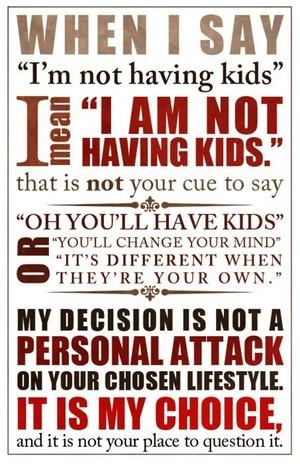 My Life, My Choice!